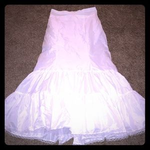 David's Bridal Fit and Flare Full Ball Gown Slip